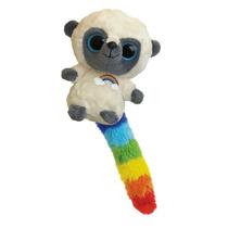 Peluche Lemur Arcoiris Aurora Yoohoo Amigos Con Sonido 13 Cm