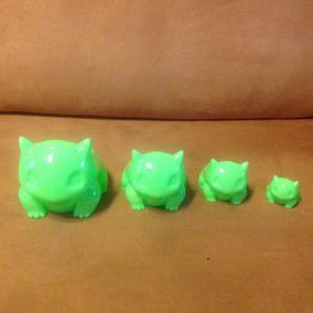 Set Macetas Bulbasaur Impresion 3d + Regalo