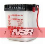 Bateria Yuasa 6n4 2a / 6n42a 6v Suzuki Ax 100 Ax100 Nsr Moto