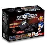 Sega Genesis Deluxe Consola De Juego Clásico Exclusiva 85, C