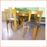 1(una) Silla (4 Disponibles Estilo Alvar Aalto Vintage Retro