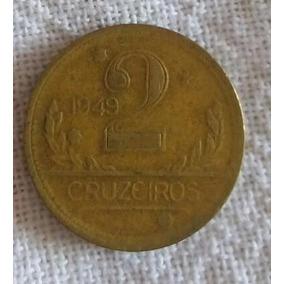 Moeda De 2 Cruzeiro De 1949 Mapa