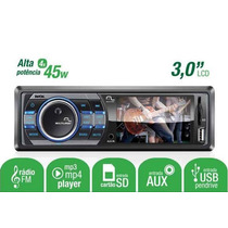 Radio Automotivo Mp3 Player Multilaser Rock P3180 Tela 3 Usb