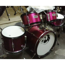Bateria Infantil Junior Century 5 Pzs. Color Rosa