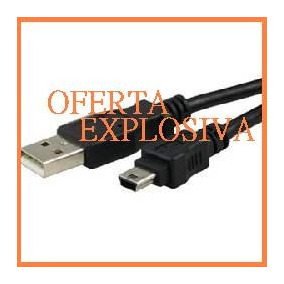 Cable Usb P/camara Video Samsung Scd5000 Scd590 Scd86 Scl870