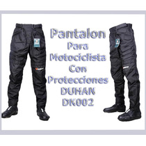 Pantalon Impermeable Para Motocilsmo Duhan Dk002