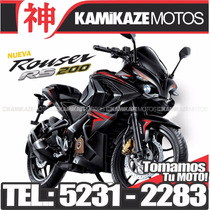Bajaj Rouser Rs200 /patentada/tomo Moto/financiacion