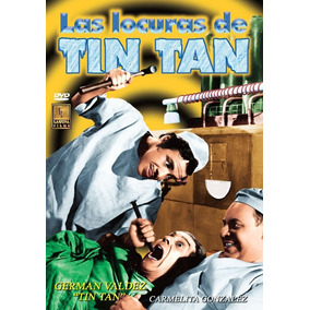 Dvd Comedia German Valdez Las Locuras De Tin Tan Tampico