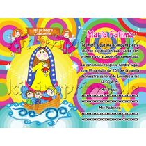 Virgencitas Kit Imprimible Invitaciones Modernas Originales!