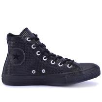 Tênis Converse All Star Ct As Graft Leather Hi Preto Preto C