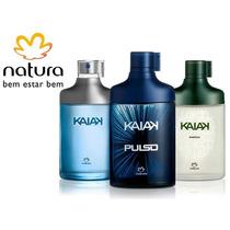 3 Unidades Kaiak Pulso+aventura+tradicional 100ml Natura
