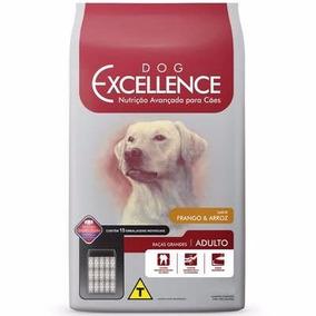 Ração Dog Excellence Cães Adultos Rç Gran Frango Arroz 15kg