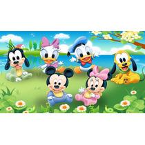 Painel De Festa Infantil 2,0x1,5 Baby Disney E Outros Temas