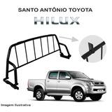 Santo Antônio Toyota Hilux 2009 Grade Vidro Traseiro