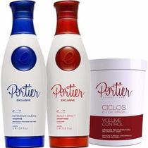 Portier Fine Kit (2x1l) + Bbotox Portier (1kg) + Óleo Argan
