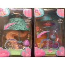 Fairytopia Set De Casita Y Munecos Miniatura