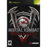 Xbox Mortal Kombat Deadly Alliance Nuevo Y Envio Inmediato