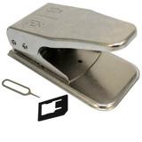 Alicate Cortador Duplo Cortar Chip Celular Micro E Nano Sim