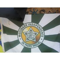 Bandeira Escola Samba Gres Mocidade Indepente Padre Miguel