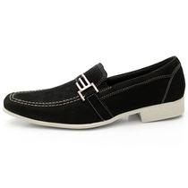 Sapato Social Esporte Fino Masculino Couro Legítimo Conforto