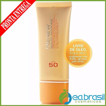 Protetor Solar Facial Renew Advance 50 Ml Fps 50 Oferta Avon