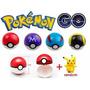 Pokemon Go - Pokebolas 7cm Con Figura Al Azar En Su Caja