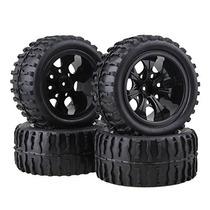 Neumáticos Bqlzr Negro Rc 1:10 Camión Cisterna Wave + Plásti