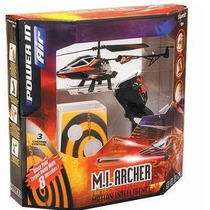 R/c Helicóptero Controle Remoto M.i Archer Silverlit Dtc