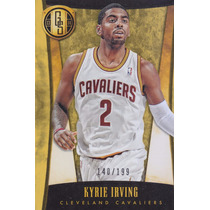 2013-14 Panini Gold Standard #24 Kyrie Irving /199 Cavaliers