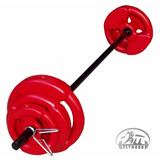Body Pump Kit Local 17 Kg Oficial Body Pump Barra Discos