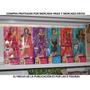6 Figuras De La Línea Barbie Fashionista