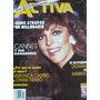 Revista Activa. Veronica Castro En Portada .tv.novelas