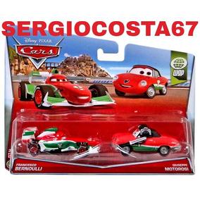 Disney Cars Francesco Bermoulli Giuseppe Motorosi Frete Baix