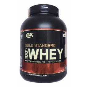 Proteina Gold Standard 100% Whey 5 Lb Chocolate Blanco