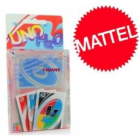 Cartas Uno H2o Mattel Original Nueva Juego Mesa Juguete Niño