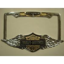 Harley Davidson Portaplacas Metalico (auto - Camioneta)