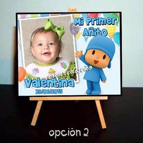 10 Mini Atril Personalizados Souvenirs Cumple Pocoyo Peppa