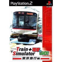 Patch Simulador De Trens No Ps2 Densha De Go + Train Sim