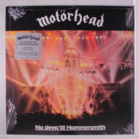 Lp Motorhead No Sleep´till Hammersmith Lacrado Imp 180gr
