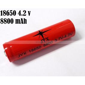 Bateria Recarregável 8800mah Profissional De Lítio 18650 Top