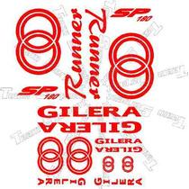 Kit De Calcomanias Para Moto Gilera 180sp Runner