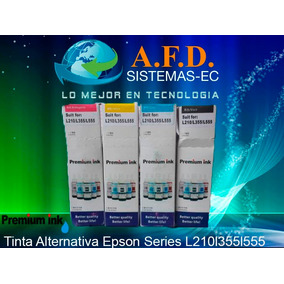 Tinta Alternativa Epson Series L210/l355/l555