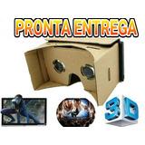 Google Cardboard, Óculos De Realidade Virtual