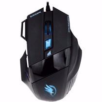 Mouse Gamer Usb 2400 Dpi Não Razer/macro Pc 7 Botões Fire