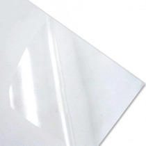 40 Adesivos Vinil A4 Transparentes Impressoras Jato De Tinta