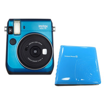 Câmera Instantânea Fujifilm Instax Mini 70 + Álbum - Azul