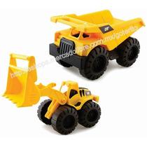 Oferta ! Combo Caterpillar Camion Volteo Excavadora C/envío