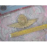 Escudo Bronce Oficial Fuerza Aerea Argentina (5735)