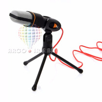 Microfone Com Fio Condensador Sf-666 Estudio Pc 3 Cores