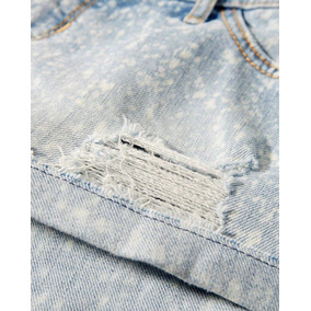 Roupa Feminino Hollister Original Shorts Bermuda Jeans